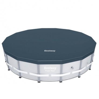 Тент BestWay 58249 BW, для каркасных бассейнов 488 см (d 490 см)