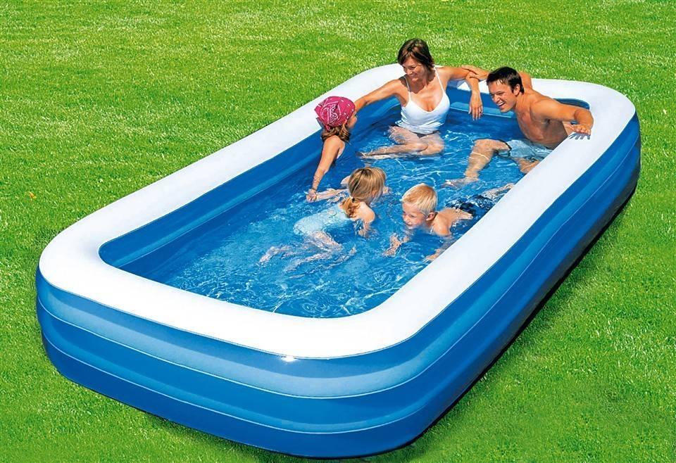 Надувной бассейн Bestway 54009 Семейный 305х183х56