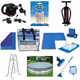 Аксессуары и комплектации для бассейнов и матрасов