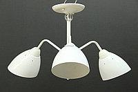 Модерн светильник на 3 лампы белый, фото 1