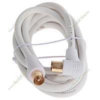 Кабель антенный соединительный ВЧ папа-мама 1,5м  /RF cord/