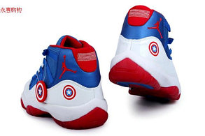 Nike Air Jordan 11 Kaptain America баскетбольные кроссовки , фото 3