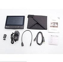 7''/ Монитор для операторского крана /HDMI, AV,YPbPr/ APATURE V1+ Аккумулятор и зарядное уст., фото 3
