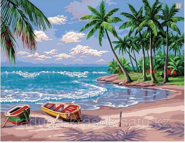 """Картины стразами """"Райский остров"""" 40*50"""