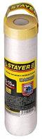 """Пленка STAYER """"STANDARD"""" защитная укрывочная, HDPE, в рулоне, 7 мкм, 2 х 50 м"""