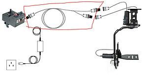 9м/ кабель для Пульта управление Панорамной головкой  PROIAM Индия , фото 2
