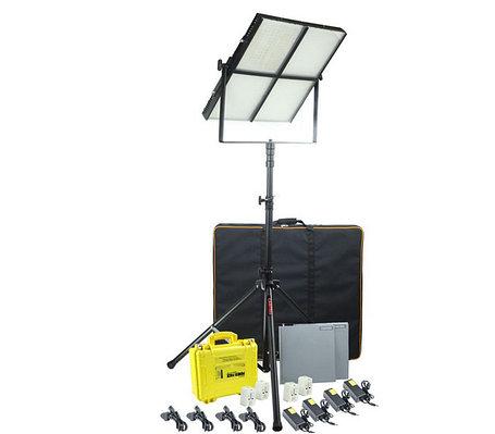 Светодиодная (LED) панель для фото / видео Camtree 1000 (4 панели на одной стойке), фото 2