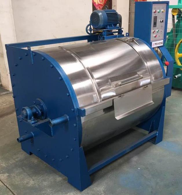 Линия для мойки, сушки шерсти, центрифуги для полного отжима воды производительностью 30 кг в час
