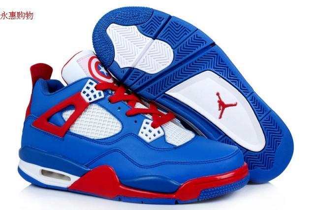Баскетбольные кроссовки Nike Air Jordan 4 Kaptain America