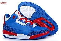 Баскетбольные кроссовки Nike Air Jordan 3 Kaptain America