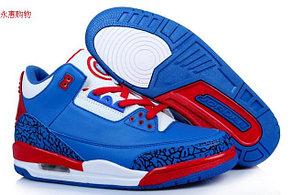 Баскетбольные кроссовки Nike Air Jordan 3 Kaptain America , фото 2