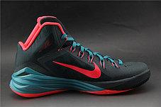 Баскетбольные кроссовки Nike Lunar Hyperdunk 14 ( XIV ) серо-красные, фото 2