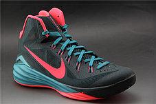 Баскетбольные кроссовки Nike Lunar Hyperdunk 14 ( XIV ) серо-красные, фото 3
