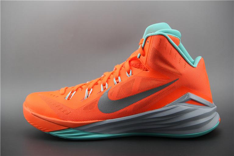 Баскетбольные кроссовки Nike Lunar Hyperdunk 14 ( XIV ) оранжевые