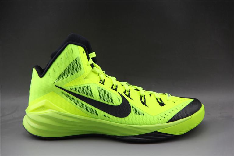 Баскетбольные кроссовки Nike Lunar Hyperdunk 14 ( XIV ) желтые