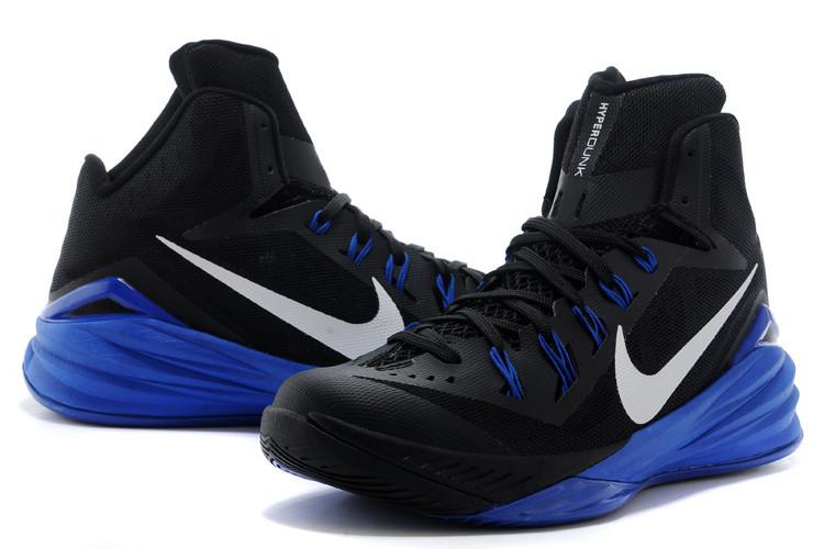 Баскетбольные кроссовки Nike Lunar Hyperdunk 14 ( XIV ) черно-синие
