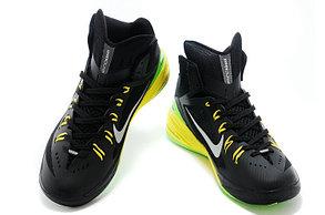 Баскетбольные кроссовки Nike Lunar Hyperdunk 14 ( XIV ) черно-желтые, фото 2