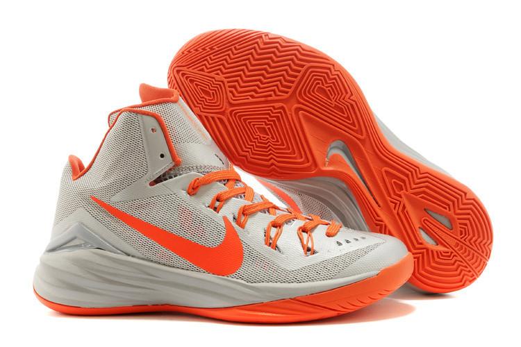 Nike Lunar Hyperdunk 14 ( XIV ) бело-оранжевые