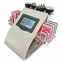 6 в1: кавитация, РФ лифтинг, вакуумный массаж, лазерный липолиз
