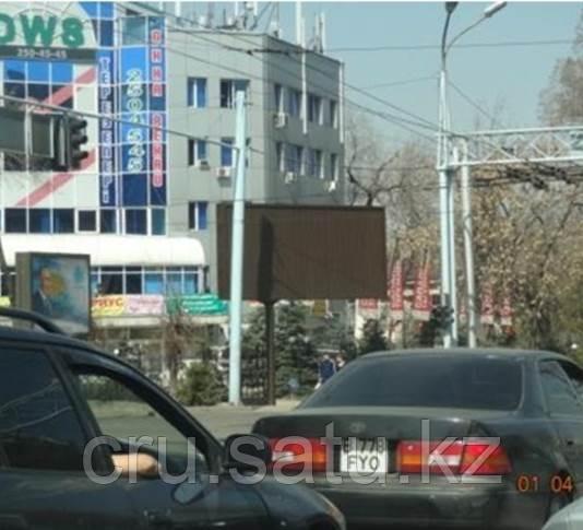 Сейфуллина – Кабанбай батыра, напротив РИКСОСА