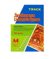 Бумага дизайнерская А4, 50л., 260г., глянец (Дерево)