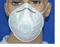 Респираторы FFP 2 медицинские кн - 95 , противотуберкулезные с выпускным клапаном