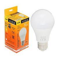 Лампа светодиодная Ecola, А60, 9.2 Вт, E27, 2700 К, 110 x 60 мм