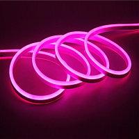 """Гибкий светодиодный """"Neon Flex"""" 8*16 мм - бухта 100 метров, 11 000 диодов, розовый свет"""