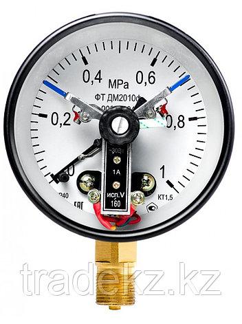 ДМ2010Ф манометр электроконтактный, фото 2