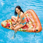 """Пляжный матрас """"Пицца"""" 175x145 см, Intex 58752"""