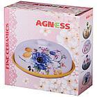 """Блюдо для блинов Agness """"гламур""""  (23 x 10 см), фото 3"""