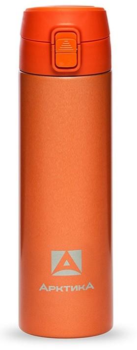 Термос ARCTICA DRINK (0,5л)(8ч)(металл)(с поилкой)-оранжевый R 84508