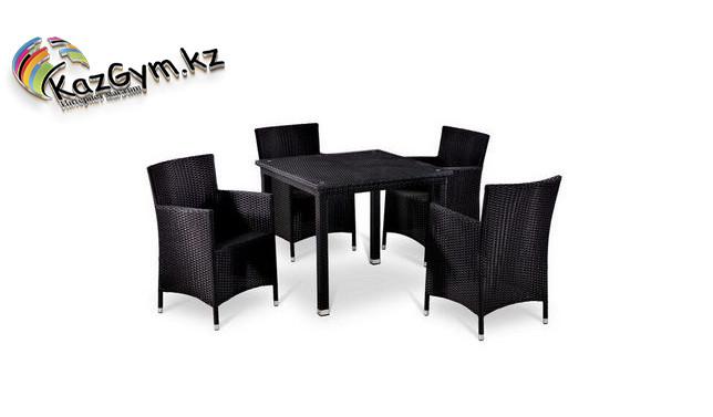 Комплект мебели стол + 4 кресла