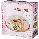 Блюдо для блинов с крышкой Agness «Щедрая душа» (23х10 см), фото 3