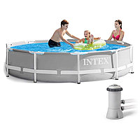 Каркасный круглый бассейн Intex 26712NP 366х76