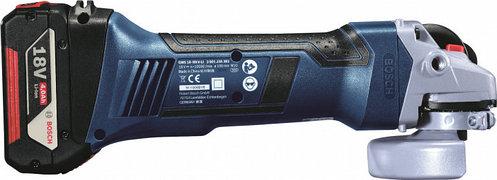 Аккумуляторная угловая шлифмашина Bosch GWS 18-125 V-LI (060193A30B), фото 2