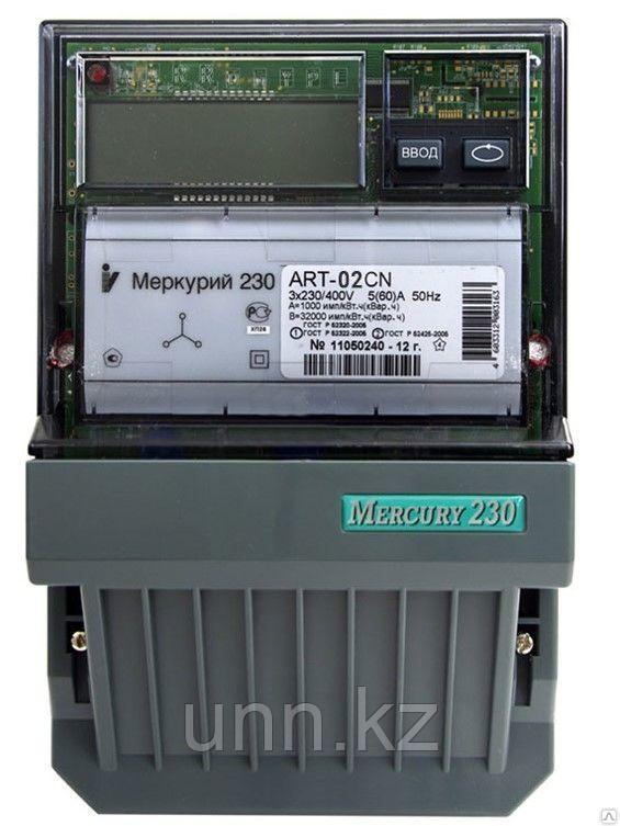 "Эл.счетчик ""Меркурий-230  АРТ -02 3*230/400V 100A 50Hz"