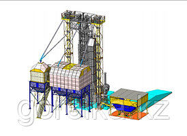 Зерноочистительно-сушильный комплекс ЗСК-20