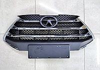 Решетка радиатора без эмблемы JAC S3 2-е поколение