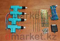 Центральный замок, 4 толкателя, провода, крепления, универсальный, фото 1