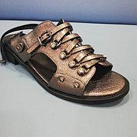 Босоножки - сандалии, плетенка черные