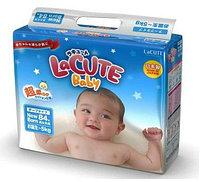 Подгузники LaCUTE Baby (NB) (84шт)