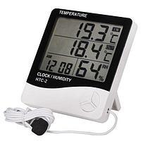 HTC-2 термометр, гигрометр, часы