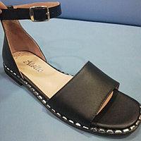 Босоножки - сандалии чёрные