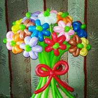Букет для девочки из 21 цветка