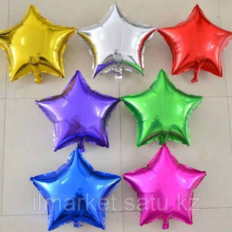 Звезды шары гелиевые - фото 1