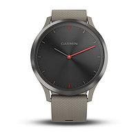 Спортивные часы Garmin vívomove HR черные с песочным ремешком (010-01850-03)