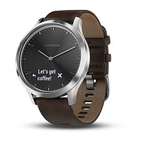 Спортивные часы Garmin vívomove HR Premium Black-Silver (010-01850-24)