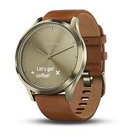 Спортивные часы Garmin vívomove HR Premium Gold-Gold (010-01850-25)