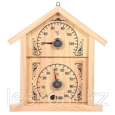 "Термометр+гигрометр Банная станция ""Домик"""